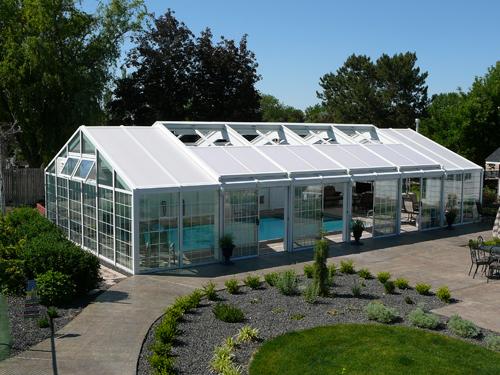 Boise pool enclosures idaho pool enclosures pool for Swimming pool greenhouse